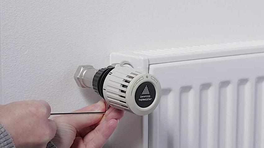 как установить радиатор отопления