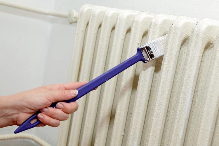 Как покрасить батарею отопления