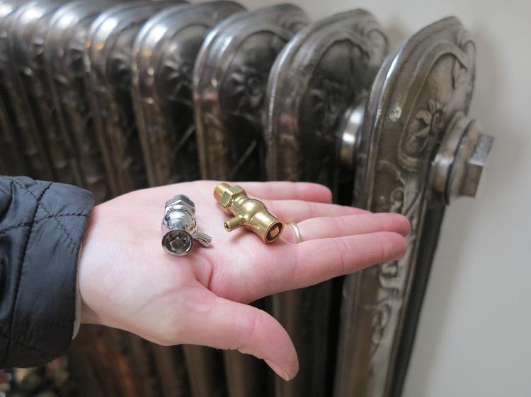 Старые батареи отопления